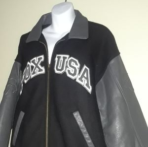 Vintage Fox racing coat